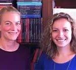 Laure Prételat et Charlotte Allibert