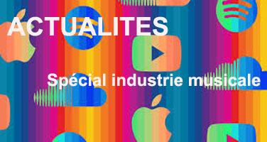 Actualités des industries culturelles et de communication #70, spécial industrie musicale